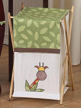 Sweet Jojo Designs Jungle Time Collection Laundry Hamper