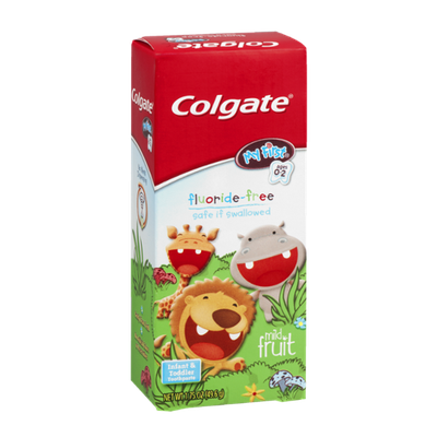 Colgate My First Fluoride-Free Infant & Toddler Toothpaste Mild Fruit