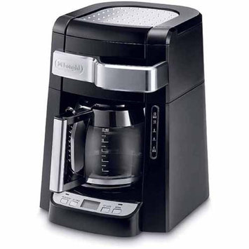 DeLonghi 12-Cup Glass Carafe Drip Coffee Maker, Black