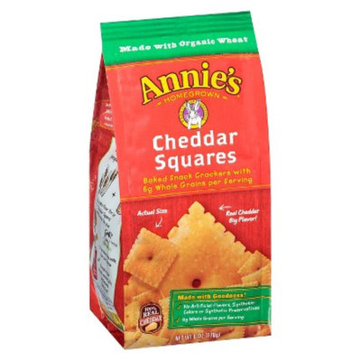 Annie's Homegrown Baked Cheddar Squares Crackers