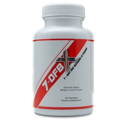 7-dfbx 7DFBX - 7 Day Fat Burner X-treme - Detox - Weight Loss Pill