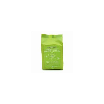 Method Products method Squeaky Green Dryer Cloths, French Lavender, 40 ct
