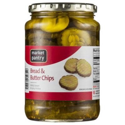 Market Pantry Bread & Butter Pickle Chips - 24 oz.