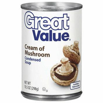 Great Value : Cream Of Mushroom Condensed Soup