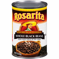 Rosarita Premium Seasoned Whole Black Beans