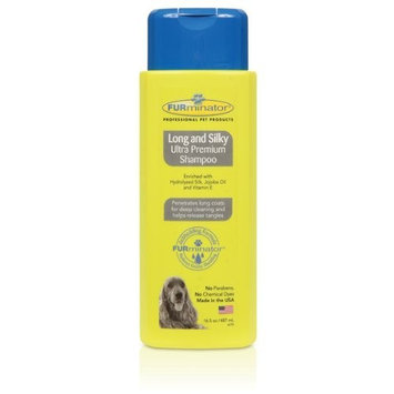 FURminator Long & Silky Ultra Premium Shampoo, 16.5-Ounce