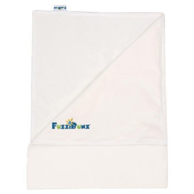 FuzziBunz Fleece Changing Pad, White