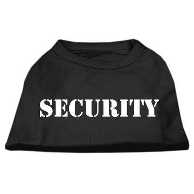Mirage Pet Products 5148 XXXLBK Security Screen Print Shirts Black with white text XXXL 20