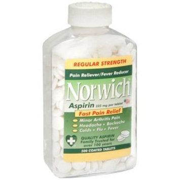 Norwich Aspirin Special pack of 6 ASPIRIN NORWICH 500 Tablets