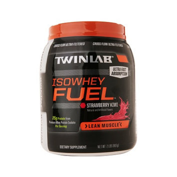 Twinlab Fuel ISO Whey Protein Fuel Lean Muscle
