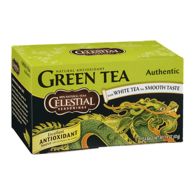 Celestial Seasonings Green Tea Authentic - 20 CT