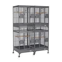 Midwest Metal Products Co. MidWest Multi-Vista Expansion Unit - Platinum 24L x 24W x 63H
