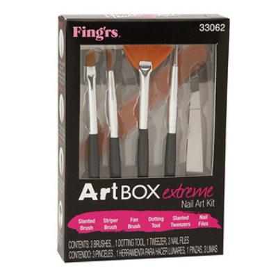 Fing'rs Heart 2 Art Nail Art Kit, Art Box Extreme, 1 set