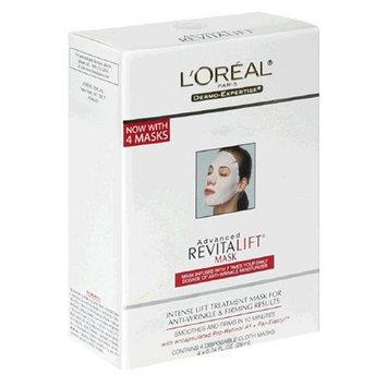 L'Oréal Paris Advanced RevitaLift Mask, 4-Count Box