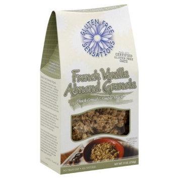 Gluten Free Sensations French Vanilla Almond Granola, 9-Ounce (Pack of 3)