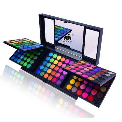 Shany Cosmetics SHANY 180 Color Eyeshadow Palette (180 Color Eyeshadow Palette, United Colors of SHANY, Neon Frenzy, Limited), 6.25 Ounce