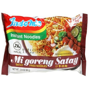 Indomie Fried Noodle, Satay, 2.82-Ounce (Pack of 30)