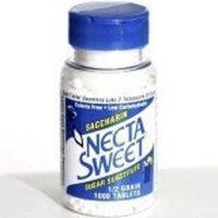 Necta Sweet 3 pack 1/2 grain 1000 saccharin tablets