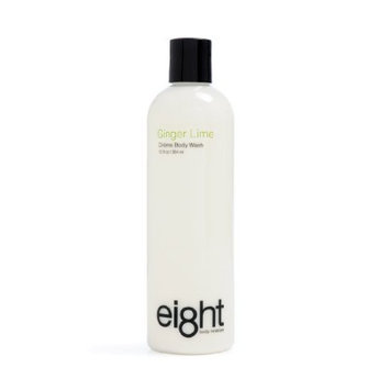Eight Body Moisture Creme Body Wash Ginger Lime, 12-Ounce