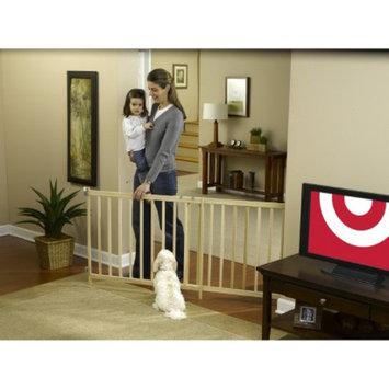 GMI GuardMaster III 490 Tall Super Wide Wood Slat Swing Baby and Pet Gate