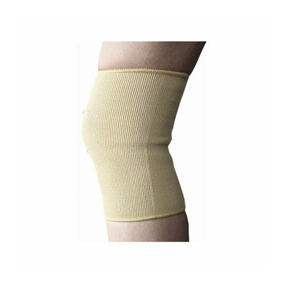 Bell-Horn Elastic Knee Support in Beige