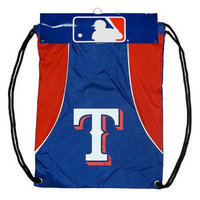 Concept One MLB Texas Rangers Team Color Back Sack - School Supplies