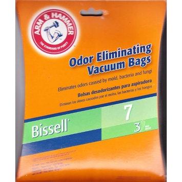 Arm Hammer Arm & Hammer Odor Eliminating Vacuum Bags, Bissell 7 Bag, 3 Pack