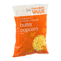 Guaranteed Value Butter Popcorn