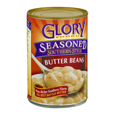 Glory Foods Butter Beans Seasoned Southern Style