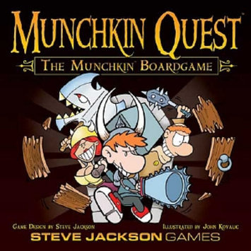 Munchkin Quest Board Game Ages 12 and up, 1 ea