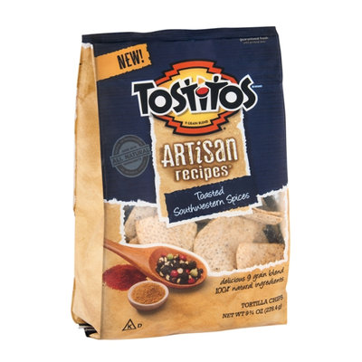 Tostitos Artisan Recipes Tortilla Chips Toasted Southwestern Spices