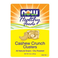 NOW Foods Cashew Crunch Clusters - 9 oz.