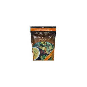 Rothbury Farms Rothbury Cheese & Garlic Croutons, 6-Ounce (Pack of 12)