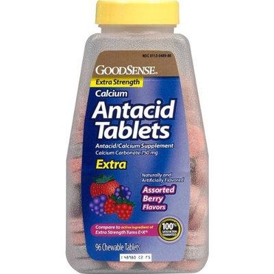 Good Sense Extra Strength Calcium Antacid Tablets Berry