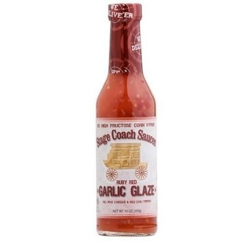 Stage Coach Red Ruby Garlic Glaze 8 oz. (Pack of 6)