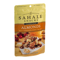 Sahale Snacks Glazed Nuts Almonds with Cranberries, Honey + Sea Salt