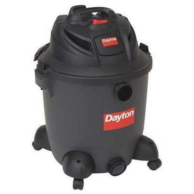 DAYTON 12Z214 Wet/Dry Vacuum, 5.5 HP, 12 gal, 120V