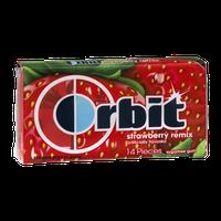 Orbit Sugar Free Gum Strawberry Remix