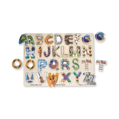 Melissa & Doug Alphabet Art Puzzle (26 pc)