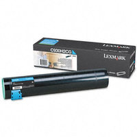 Lexmark C930H2CG Original Cyan High Yield Toner Cartridge