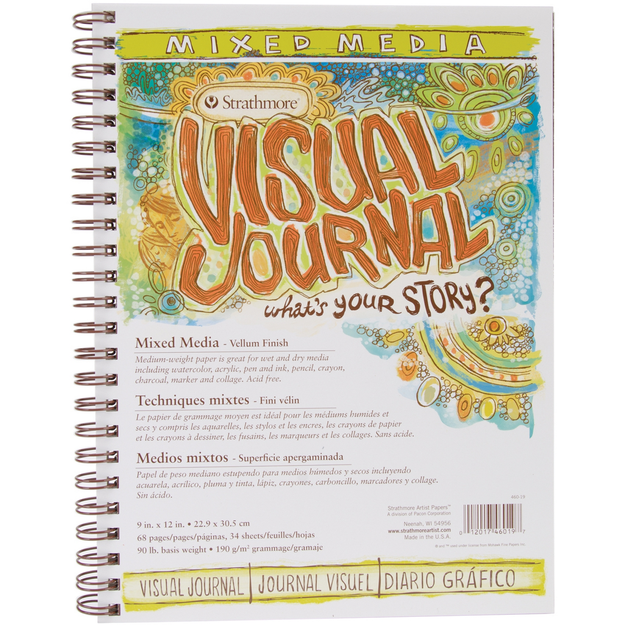 Strathmore Visual Journal Spiral Bound 9