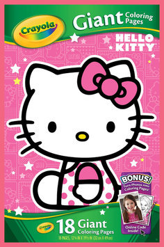 Binney & Smith Crayola Hello Kitty Giant Coloring Pages - BINNEY & SMITH INC.