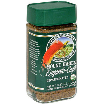 Mount Hagen Organic-Cafe Decaffeinated Instant Coffee