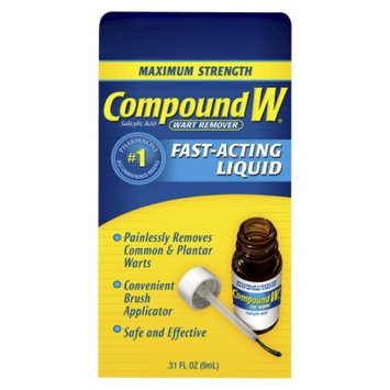Compound W Maximum Strength Fast-Acting Liquid Wart Remover - 0.31 oz