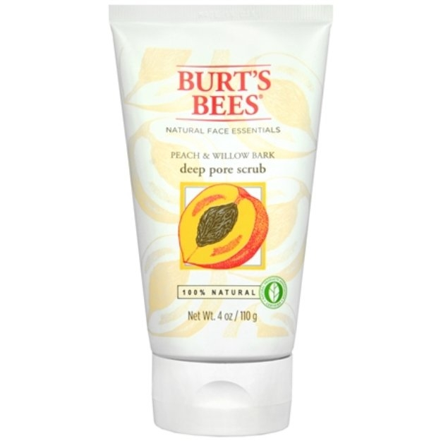 Burt's Bees Peach and Willowbark Scrub