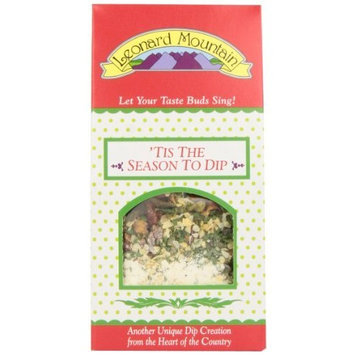 Leonard Mountain Tis' The Season To Dip!veggie Topper, 1.75-Ounce. Boxes (Pack of 6)