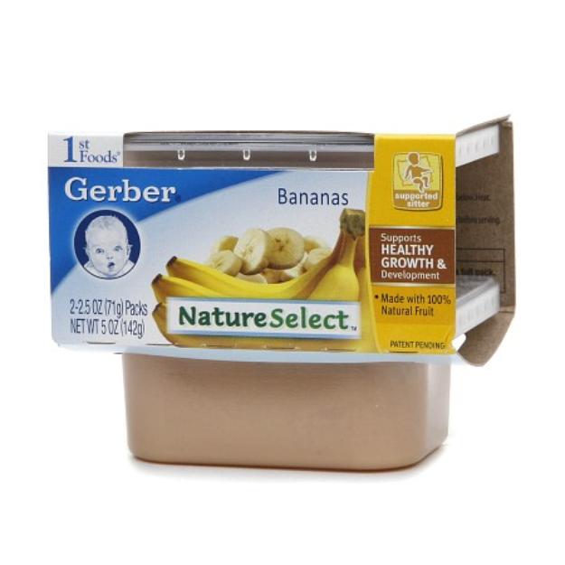 Gerber® 2nd Foods Baby Food Bananas NatureSelect