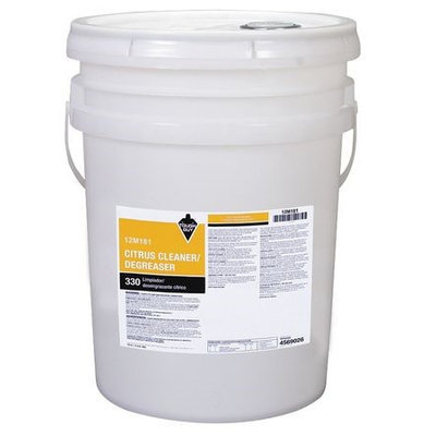 TOUGH GUY 12M181 Cleaner Degreaser, Citrus, Size 5 gal.