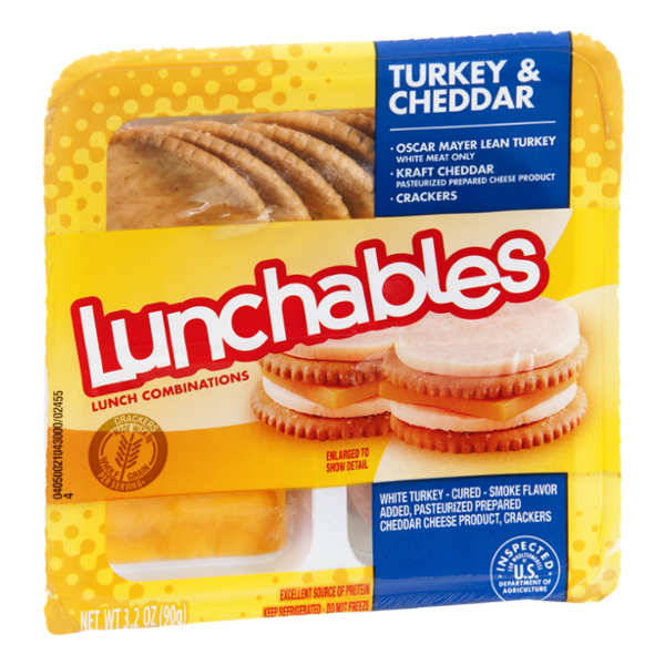 Lunchables Turkey & Cheddar