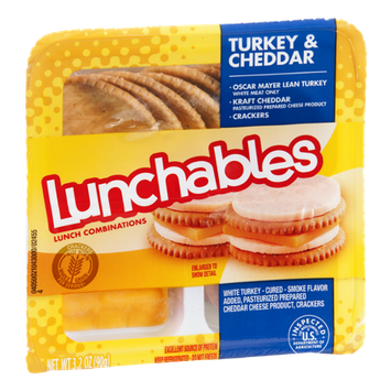 Lunchables Turkey & Cheddar